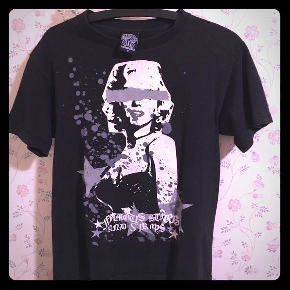 famous stars straps shirts famous stars straps marilyn monroe